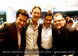 Memo Méndez Guiu / Carlos Lara / Armando Ávila